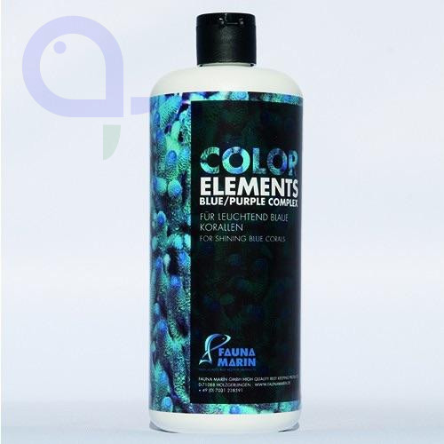 Fauna Marin Color Elements Blue Purple Complex 500 ml