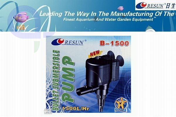 Resun Power Head B-1500 - 1500l/h - 25Watt