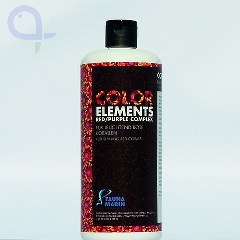 Fauna Marin Color Elements Red Purple Complex 500 ml
