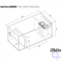 Red Sea Filterbecken - Reefer 450