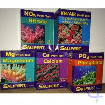 Salifert Special Test Kit KH, CA, MG, NO3, PO4