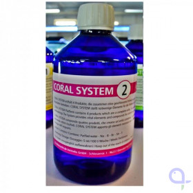 Korallenzucht Coral System 2 - Coloring Agent 2 500 ml