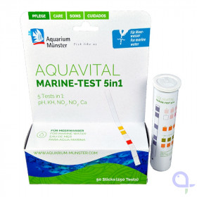 Aquavital Marine -Test 5in1 - Aquarium Münster