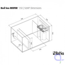 Red Sea filter sump for Reefer 350