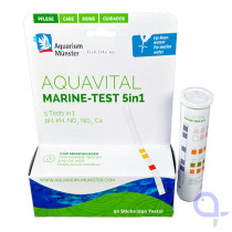 Aquavital Marine Test 5 - 1 KH-pH-Ca-NO2-NO3  Schnelltest