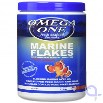 Omega One Marine Flakes mit Knoblauch