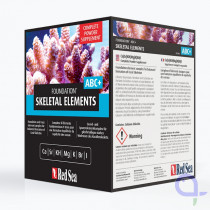 Red Sea Foundation Skeletal Elements Complete (Ca/Sr/KH/Mg/K/Br/I) - 5kg