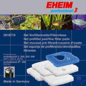 Eheim 2616710 - Fine and coarse filter pads for mechanical and biological filtration