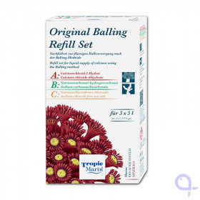 Tropic Marin Original Balling Bio Calcium Refill Set for 6 x 5000 ml
