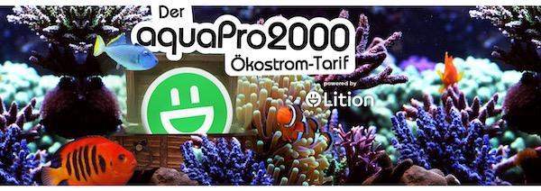Ökostrom bei aquaPro2000