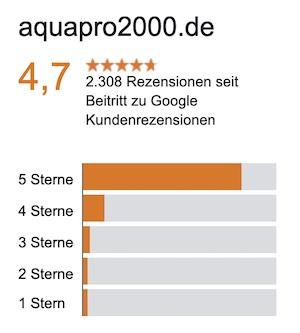 Google Zertifizierung aquaPro2000