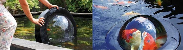 Funktion und Aufbau des Velda Fishdome